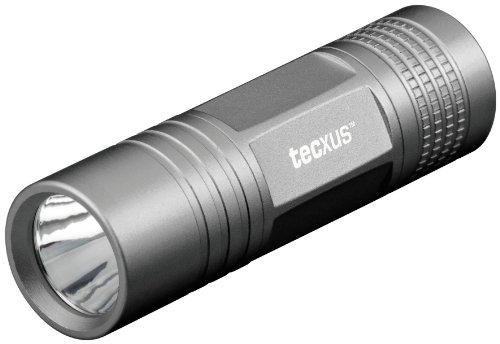 Tecxus easylight S80 (handliche Mini-LED-Taschenlampe mit hoher Leuchtweite), schwarz