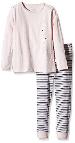 NAME IT Baby-Mädchen Zweiteiliger Schlafanzug NITNIGHTSET K G NOOS, Gestreift, Gr. 122, Mehrfarbig (Ballerina)