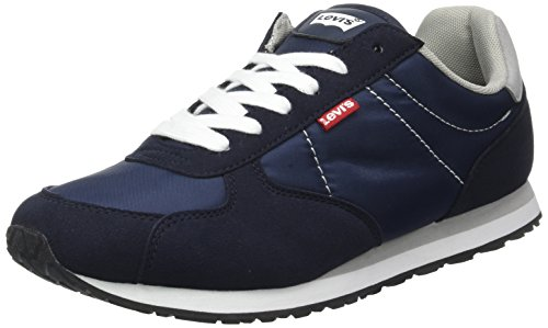 LEVIS FOOTWEAR AND ACCESSORIES Herren Eagle Running Bässe, Blau (Bleu), 46 EU