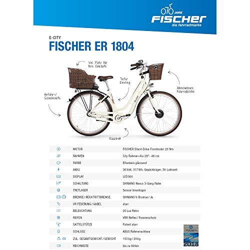 Fischer Damen E-bike ER 1804