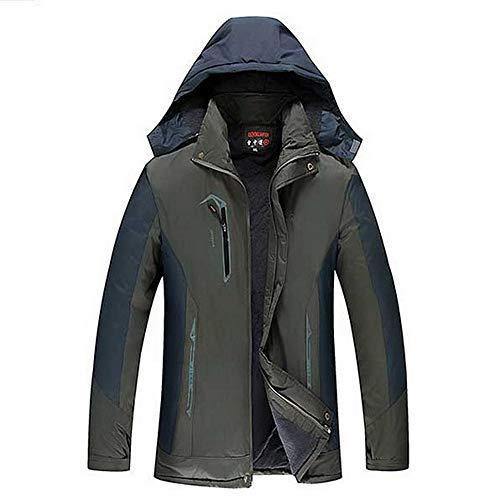 LHWY Kapuzenjacke Damen Herren Frauen Paare Winddicht Wasserdicht Winter Softshell Sport Mantel Jacke