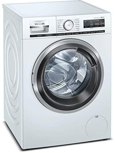 Siemens iQ700 WM14VM40 Waschmaschine / 9 kg / A+++ / 152 kWh / 1400 u/min / WLAN-fähig mit Home Connect / antiFlecken System / speedPack XL für schnelles Waschen