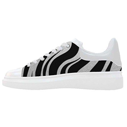 Dalliy zebra stripe Men's Canvas shoes Schuhe Footwear Sneakers shoes Schuhe