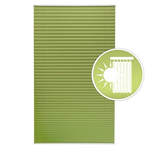 Sol Royal Plissee SolDecor P25 – 45×100 cm Grün – Klemm-Fix ohne Bohren – Plissee-Rollo Jalousie für Fenster & Türen - 2
