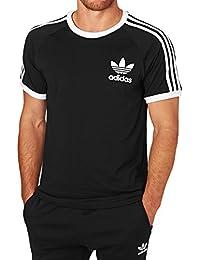 adidas CLFN Tee Camiseta para Hombre, Negro, S