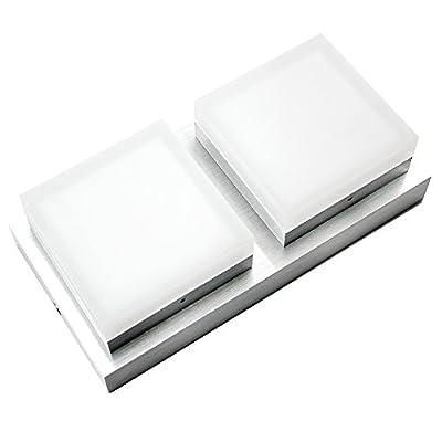 CMYK 0209-2 Wandleuchte Deckenleuchte rechteckig IP20 LED f¨¹r bis zu 10W, 218*109*60MM, 230V AC,f¨¹r Wohnraum, Bad, Flur, Wand, Decke
