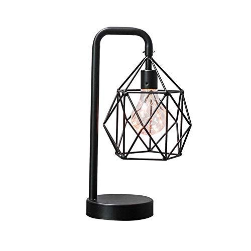 Einfache europäische geometrische schmiedeeiserne tischlampe B & B nachttisch dekoration schmuck rotisserie regal kreative weiche dekoration (Metall 12 Zoll Regale)