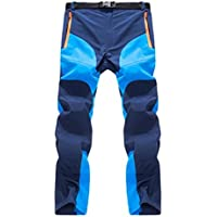 Forfar pantalón de escalada Pantalones de senderismo A prueba de viento Secado rápido Térmica para el campamento de invierno Hombres Mujeres