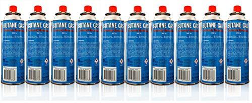 Allride MB-08 Universal Butangaskartuschen Gaskartuschen für Campingkocher, 50 Stück je 227 g, Unkrautvernichter, Camping Butan Gas, Gaskocher, Gasherd