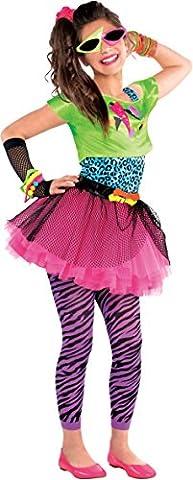 Totally Awesome 80er Jahre Geniales Kostüm Teenie Kinder