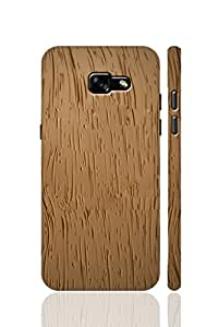 AMAN View of Sunset Tree 3D Back Cover for Samsung Galaxy A3 2017