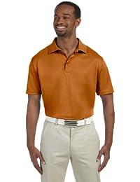Harriton Men's Polytech Short Sleeve Polo Shirt