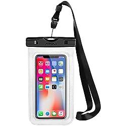 Mpow Pochette Étanche Smartphone Certifiée IPX8, Housse Téléphone Protection Universelle jusqu'à 6.5'' Sac Protection pour iPhone 11/iPhone X/XR/XS/XS MAX/8/7/6/6s/Galaxy S10/S9/S8/S7/Mate 20/P30/P20