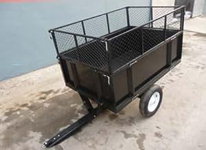 Jardin Remorque tc3080h 2roue de brouette chariot Socle basculant pour vider