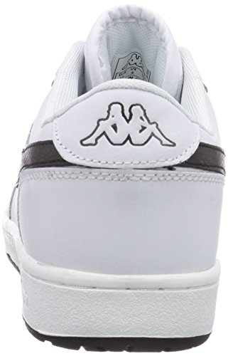 Kappa TROOPER DELUXE Footwear Herren Sneakers Weiß (1011 white/black)