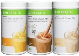 Herbalife Formula 1 Nutritional Shake Mix Combo Of 3(Mango, Choco and Vanilla,1500gms)