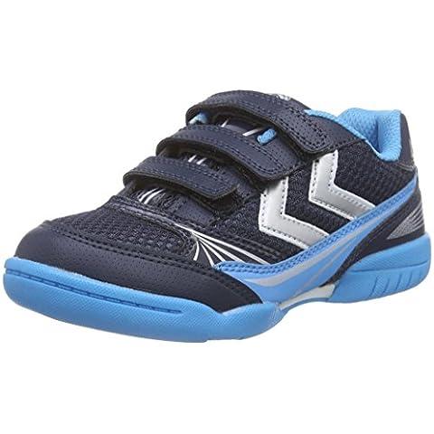 Hummel HUMMEL ROOT VELCRO JR - Zapatillas deportivas para interior de material sintético Niños^Niñas