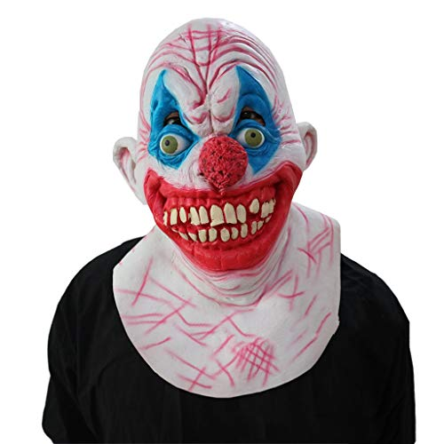 tex Kopf Maske, Scary Horror Gruselig Stephen King Clown Dämon Erwachsene Und Kinder Maske Kostüm Maskerade Party Cosplay ()