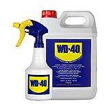 WD-40 Producto Multi-Uso - Garrafa 5L y pulverizador - Formato para usos intensivos