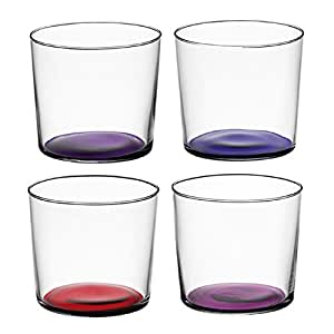 LSA International Coro bicchieri 31cl (Set di 4) viola