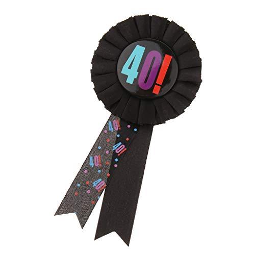 Premio Cinta Roseta Insignia Broche Pin Adulto Cumpleaños