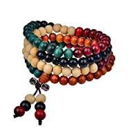Unisex Natural Sandalwood beads Wood Bracelet for men and women jewelry