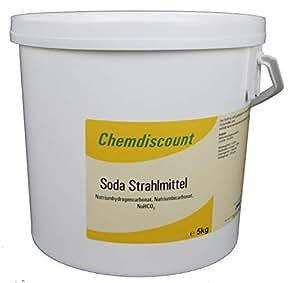 5 kg (Back-)Soda als Strahlmittel Strahlgut zum Sodastrahlen, Backsodatrahlen Strahlsoda