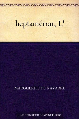 Couverture du livre heptaméron, L'