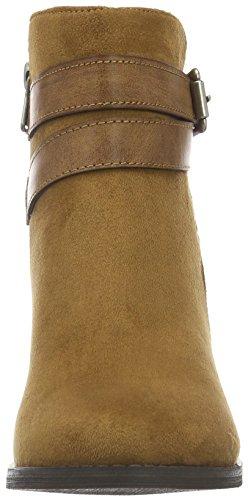 Refresh Damen 63048 Kurzschaft Stiefel Braun (Camel)