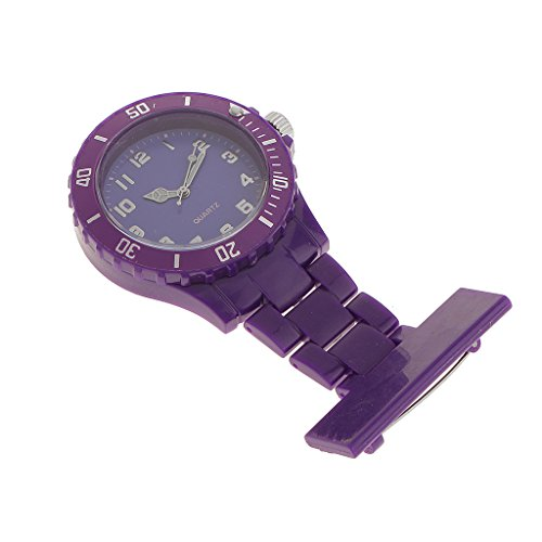 MagiDeal Reloj Broche de...