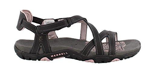 Merrell Femme Terran Convertible Sandal Ii Noir Noir - J55366 Noir / Lilas