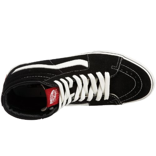 Vans Sk8-Hi, Sneakers Alti Unisex-Adulto Nero (Black/True White Suede)
