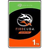 Seagate FireCuda, 1 TB, Disco duro interno híbrido, SSHD de alto rendimiento, 2,5 in, SATA, 6 Gb/s, aceleración mediante flash, caché de 8 GB para videojuegos, PC y portátiles (ST1000LX015)