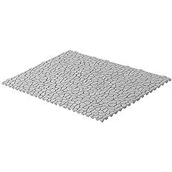 UPP Dalles de Jardin, terrasse, Piscine, Garage, clipsable I Dimension : 30 x 30 cm, Effet Pierre (24 pièces) | Plaques de Jardin | Dalles Toutes Surfaces