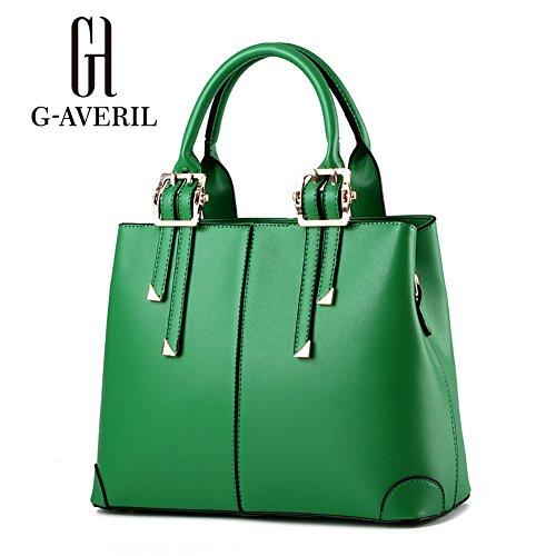 G-AVERIL, Borsa a secchiello donna blu navy Navy Blue Green