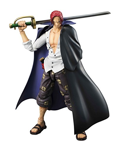 ONE PIECE - Red Haired Shanks [Variable Action Heroes][Importación Japonesa]