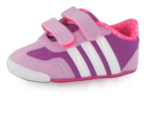 adidas Unisex-Kinder Dino Crib Kid Krabbel- & Hausschuhe, rosa/veilchenrosa, 18 EU