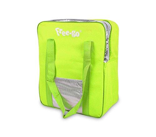 2502t borsa termica free-go 24 lt doppio manico h39xl32xp15 cm tasca anteriore. mws (giallo)