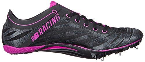New Balance Women's SD400V3 Track Spike, Black/Purple, 10 B US Black/Purple