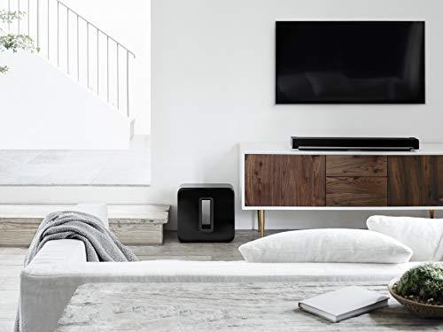Sonos SUB I Subwoofer für das Sonos Smart Speaker System (schwarz) - 3