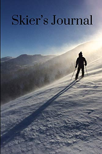 Skier's Journal: A Skiing Notebook por Magic Moon Journals