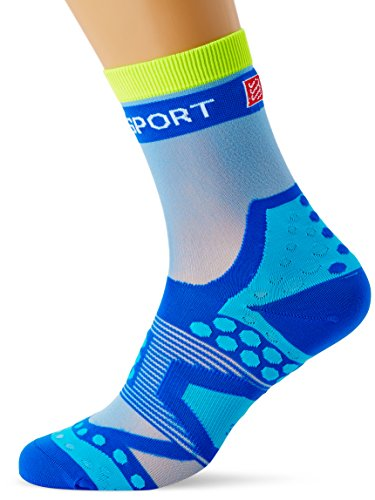 Compressport Run Ultralight - Calcetín de running unisex, color azul, talla 1