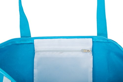 Borsa da Mare Borse Spiaggia Donna Sdraio/Ombrellone Modello Airee Fairee Blu