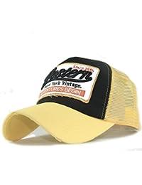 Amazon.es  Amarillo - Gorras de béisbol   Sombreros y gorras  Ropa 1aeee9cc49d