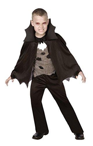 Karneval Klamotten Vampir Kostüm Kinder Jungen Vampir Halloween Horror Kinderkostüm Größe (Jungen Kostüme Halloween Kinder Für)
