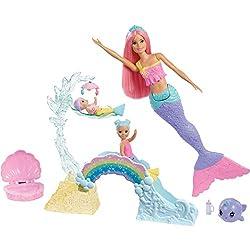 Barbie FXT25 - Dreamtopia Spielset und Puppe, Spielzeug ab 3 Jahren