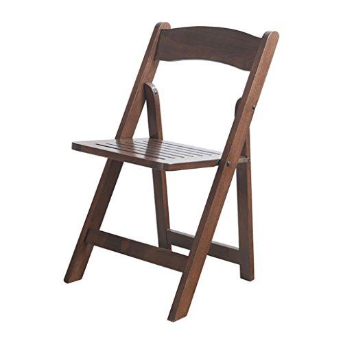 XIAOLVSHANGHANG HHCS Chaise Pliante en Bois Massif Chaise à Manger Chaises Minimaliste de Style Japonais Chaise de Bureau Chaise de conférence Chaise Longue Chaises et tabourets (Couleur : A)