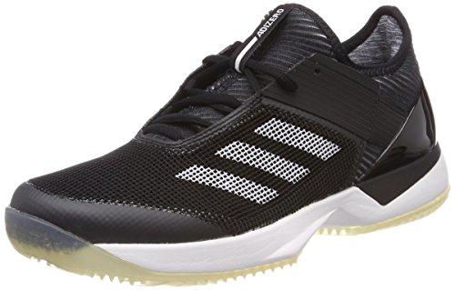 adidas Damen Adizero Ubersonic 3 Clay Tennisschuhe, Schwarz (Core Black/Footwear White), 42 2/3 EU
