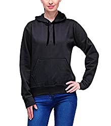 Scott Womens Premium Cotton Pullover Hoodie Sweatshirt - Black - 1.1_lssh3_S