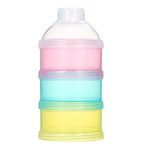 Decdeal 3 Schicht Milchpulver Spender Milchpulver- Portionierer BPA Frei
